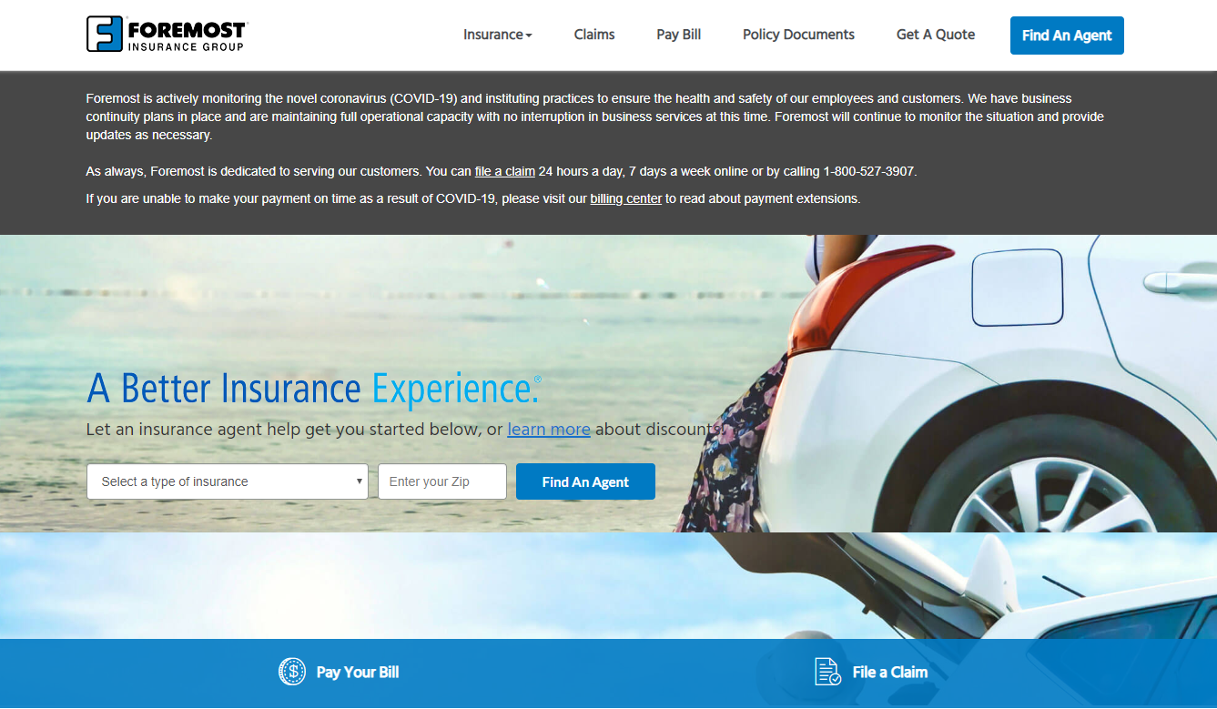 foremost insurance find an agent